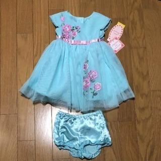 新品 ベビー2ピースドレス 18month