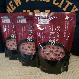 レトルト小豆お粥 3個で100円