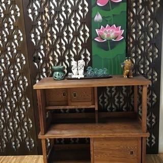 《商談中》骨董 家具 飾り棚
