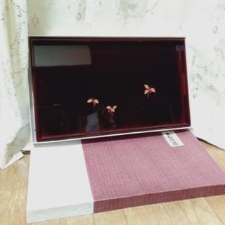 【美品】漆器盆