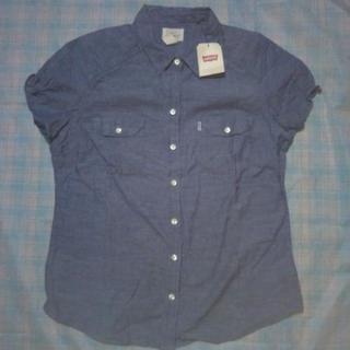 新品タグ付 リーバイス デニムシャツ Lサイズ