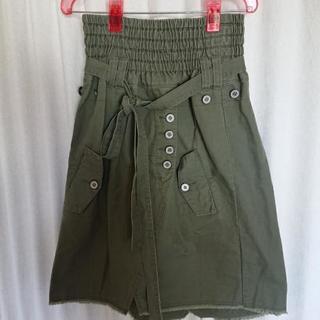 ウエストギャザースカート