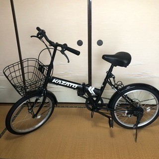 お洒落な折り畳み自転車