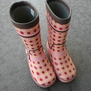☆決まりました☆女の子19センチ 長靴 ヒロミチナカノ