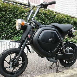 ★ヤマハEC-02 電動スクーター/ブラック 程度良好★東…
