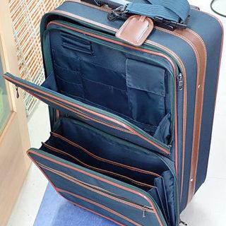 札幌市 JOYCARRY 旅行キャリーバッグ サイズ外寸 約横3...