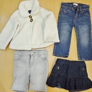 【秋冬物】baby GAP 80・90cm 女の子 ベビー服14...