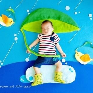 【梅田】残席1組様!梅雨とお月様のベビードリームアート撮影会