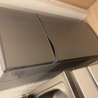 SJ-H12B-S [直冷式冷蔵庫(118L・右開き) 2ドア ...