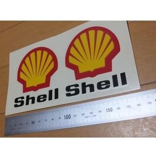 カッティングステッカー「Shell」シェル(黒)