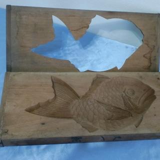 民芸品としてインテリアに 落雁作成の木枠