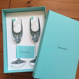 TIFFANY&Co. ティファニー 新品  シャンパングラスセット