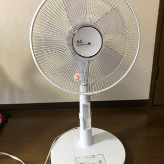 【購入者決定】ヤマダ電機☆リモコン付き扇風機