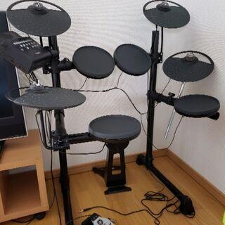ヤマハ 電子ドラムDTX430K+シンバル増設