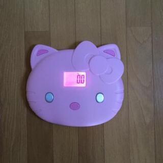 価格間違えました!最終値下げ!体重計キティちゃん