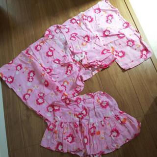 浴衣ワンピース 110サイズ