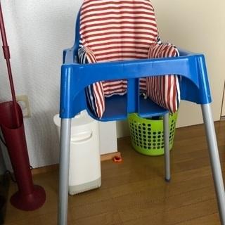 IKEAの子供イスの背もたれ