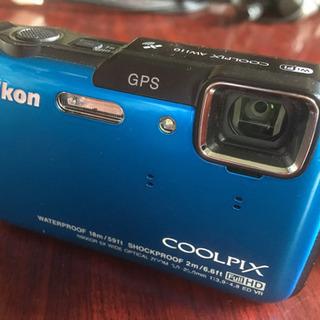 NIKON COOLPIX AW110 防水カメラ