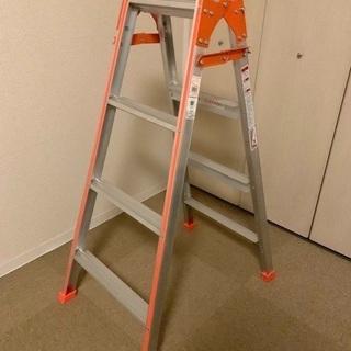 幅広はしご兼用脚立 4段・Ladder, 4-step