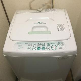 脱水できない洗濯機