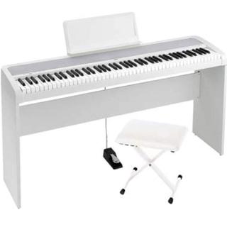 電子ピアノ 白 自動演奏 ヘッドフォン 消音