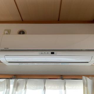 東芝製 エアコン 使用期間短し 綺麗 価格応相談!