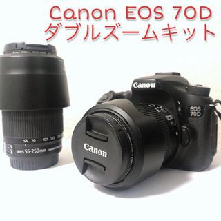 値下げしました!【おまけ付き】 Canon EOS 70D ダブ...