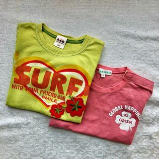 【格安】半袖 Tシャツ 90 2枚 e.a.B 3can4on