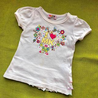 MINI-K 90 Tシャツ 白 半袖 1歳 2歳
