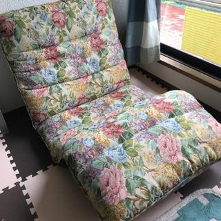 リラックスフロアチェアー 中古 大きめ 座椅子