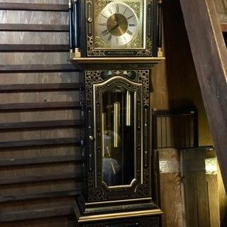 西ドイツ製 ホールクロック 重錘式振子時計 置時計 高さ205cm