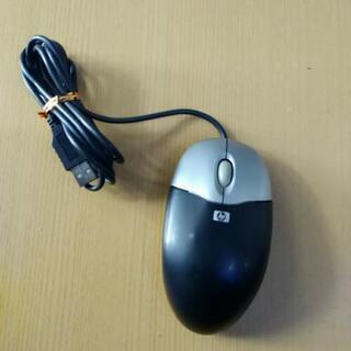 HP USB接続 光学式マウス M-UAE96 ブラック/シルバ...