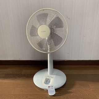 【お引渡し完了】リモコン付扇風機 USED 実用品