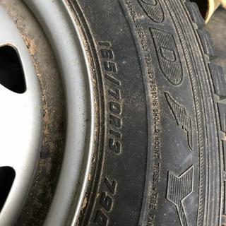 スタットレスタイヤ(4本セット) - 車のパーツ