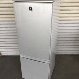 シャープ(SHARP)冷蔵庫 シルバー系 SJ-PD17W-S
