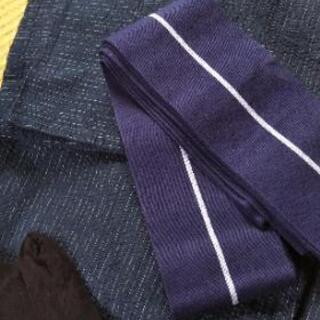 男性浴衣と帯