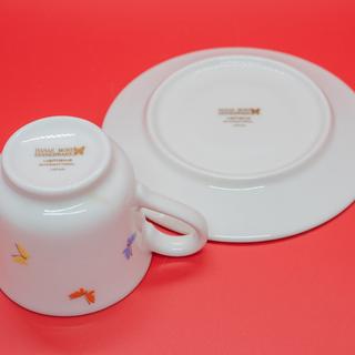 【美品】森英恵(HANAE MORI)デミタスコーヒー カップ&ソーサー(ペア) - 売ります・あげます