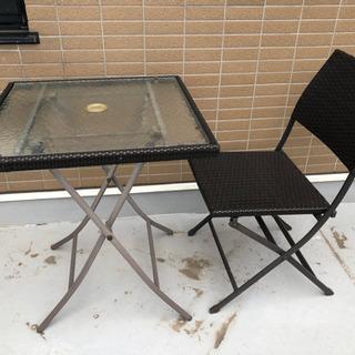 ガーデンテーブル&椅子セット