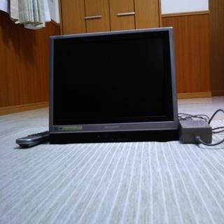 13インチのアナログテレビです