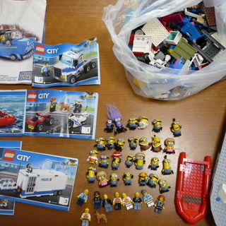レゴ レゴシティ ミニオン メガブロック たくさんまとめ【取引中】