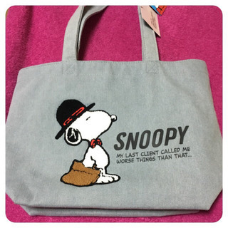 SNOOPY トートバッグ