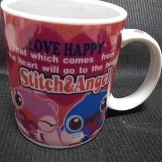 スティッチ&エンジェルのマグカップ( *´艸`)【激安!200円】