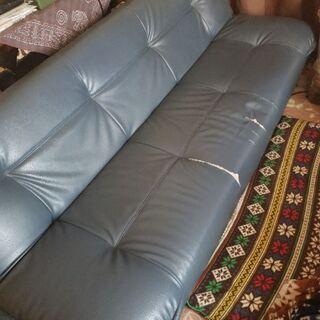 ソファーお譲り致します。ソファーベッド。