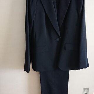 黒パンツスーツ 再値下げ