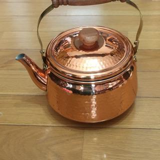 銅製ヤカン
