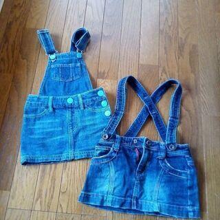 size100,110 デニムスカート