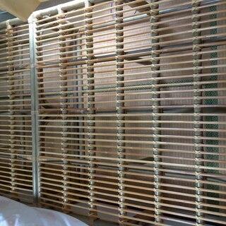 竹製ベッドフレーム 丈夫でしっかり!しかも軽い