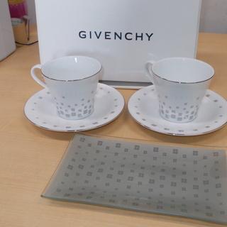 【未使用】GIVENCHYトレー付きコーヒーセット