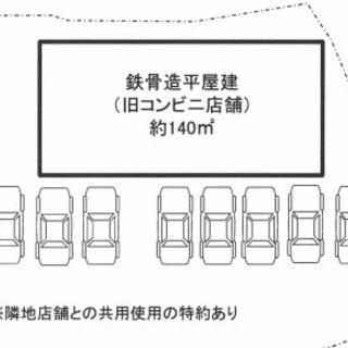 人気エリア♫幹線道路沿い認知性抜群♫駐車スペース8台あり♫