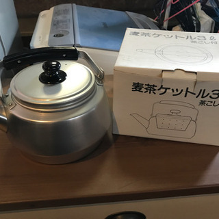 麦茶ケットル3リットル 茶こし付